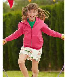 Fruit Of The Loom Kid's Classic Hooded Sweat Jacket