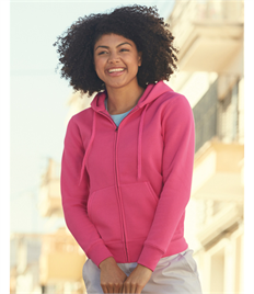 Fruit Of The Loom Ladies' Premium Hooded Sweat Jacket