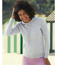 Fruit Of The Loom Ladies' Lightweight Hooded Sweat
