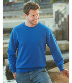 Fruit Of The Loom Men's Premium Set-In Sweat