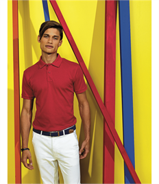 ASQUITH AND FOX MENS SUPER SMOOTH KNIT POLO