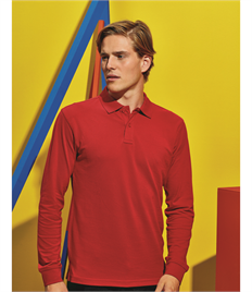 ASQUITH AND FOX MENS CLASSIC FIT L/S POLO