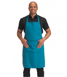 Dennys Polyester Bib Apron with Pocket
