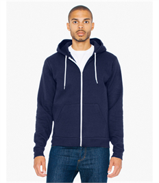 American Apparel Unisex Flex Fleece Full Zip Hoodie