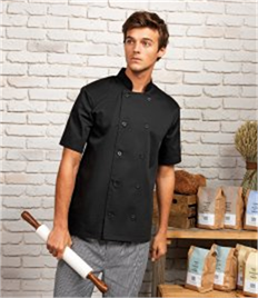 Premier Short Sleeve Chef's Jacket