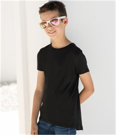 SF Minni Kids Long Line Dipped Hem T-Shirt