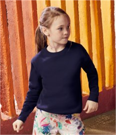 Fruit of the Loom Kids Premium Drop Shoulder Sweatshirt