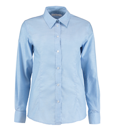 Tailored Fit Long Sleeve Workwear Oxford Shirt