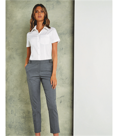 Tailored Fit S/S Pocket Premium Oxford Shirt