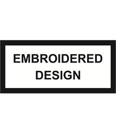 Embroidered Design (Large back)