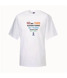 FM Plus Size Funny T-Shirt - Blue