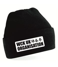 WCK UK Sydenham KIDS Black Beanie
