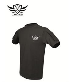 CKM Men's VIPER Tactical T-Shirt Black