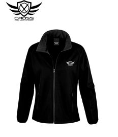 CKM Ladies Black Soft Shell Jacket