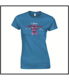 Ladies Humorous Awareness Quote High neck T-shirt
