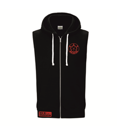 WCK UK Crawley Unisex Sleeveless Hoodie