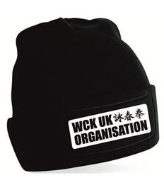 WCK UK Crawley Black Beanie