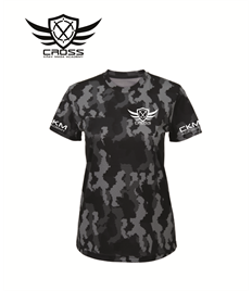 CKM Ladies Camouflage T-Shirt