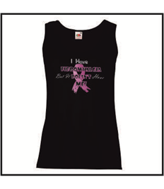 Ladies Humorous Quote Awareness Vest