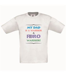 FM Child Warrior Dad T-shirt