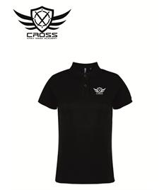 CKM Ladies Cotton Polo-Shirt
