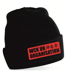 WCK UK SIDCUP Black Beanie