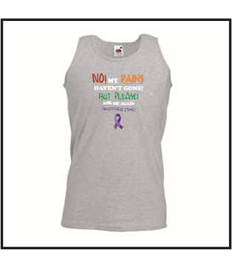 Plus Size Unisex Humorous Awareness Quote vest